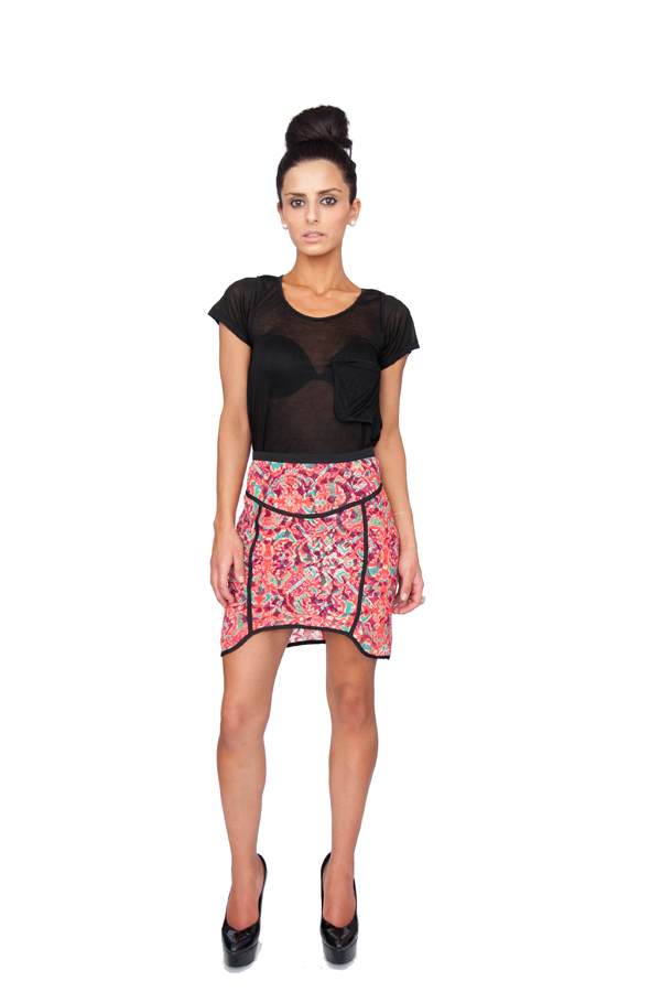 Shakuhachi Deco Lace Skirt