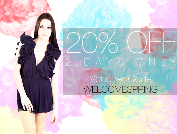 Welcome Spring Sale
